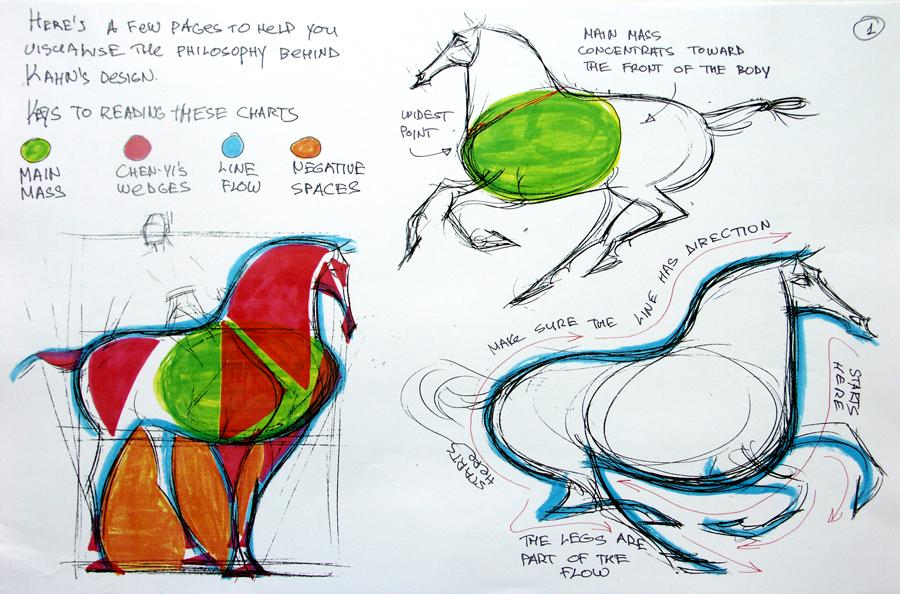 animopus mulan khan horse study via hans bacher