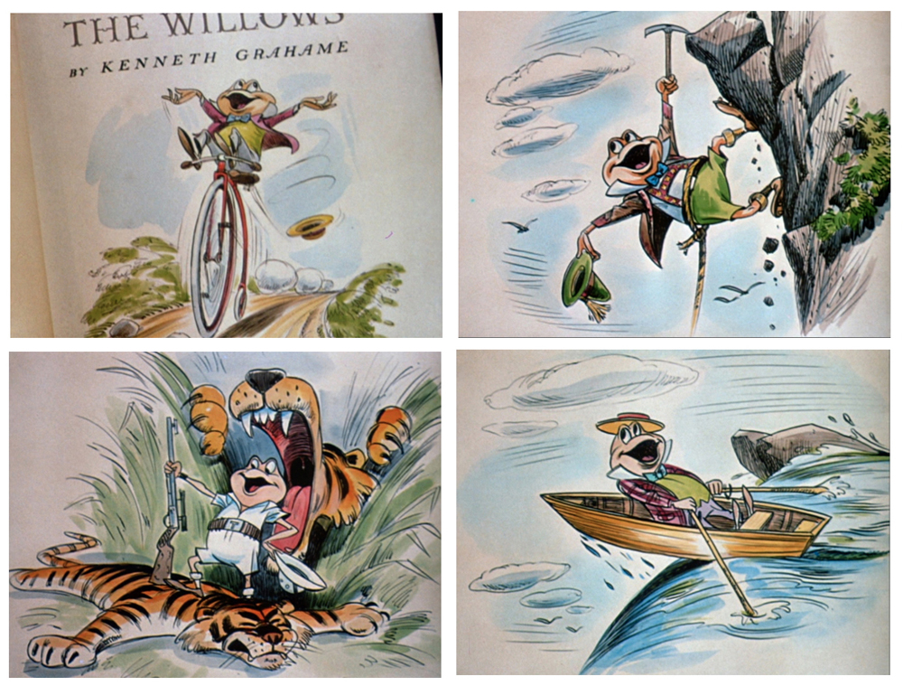the wind in the willows essay The wind in the willows is kenneth grahame's beloved children's book about the  adventures of mole, rat, badger, and toad, four animals living in the english.