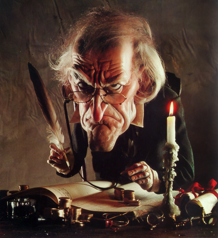 the theme of greed in the christmas carol Film versions of charles dickens' classic christmas ghost tale,written in 1843, started appearing in 1908 since then, scrooge has been played by everyone from alastair sim to albert finney,from bill murray to mr magoo do we need another one apparently and this time featuring a 3-d animated jim.