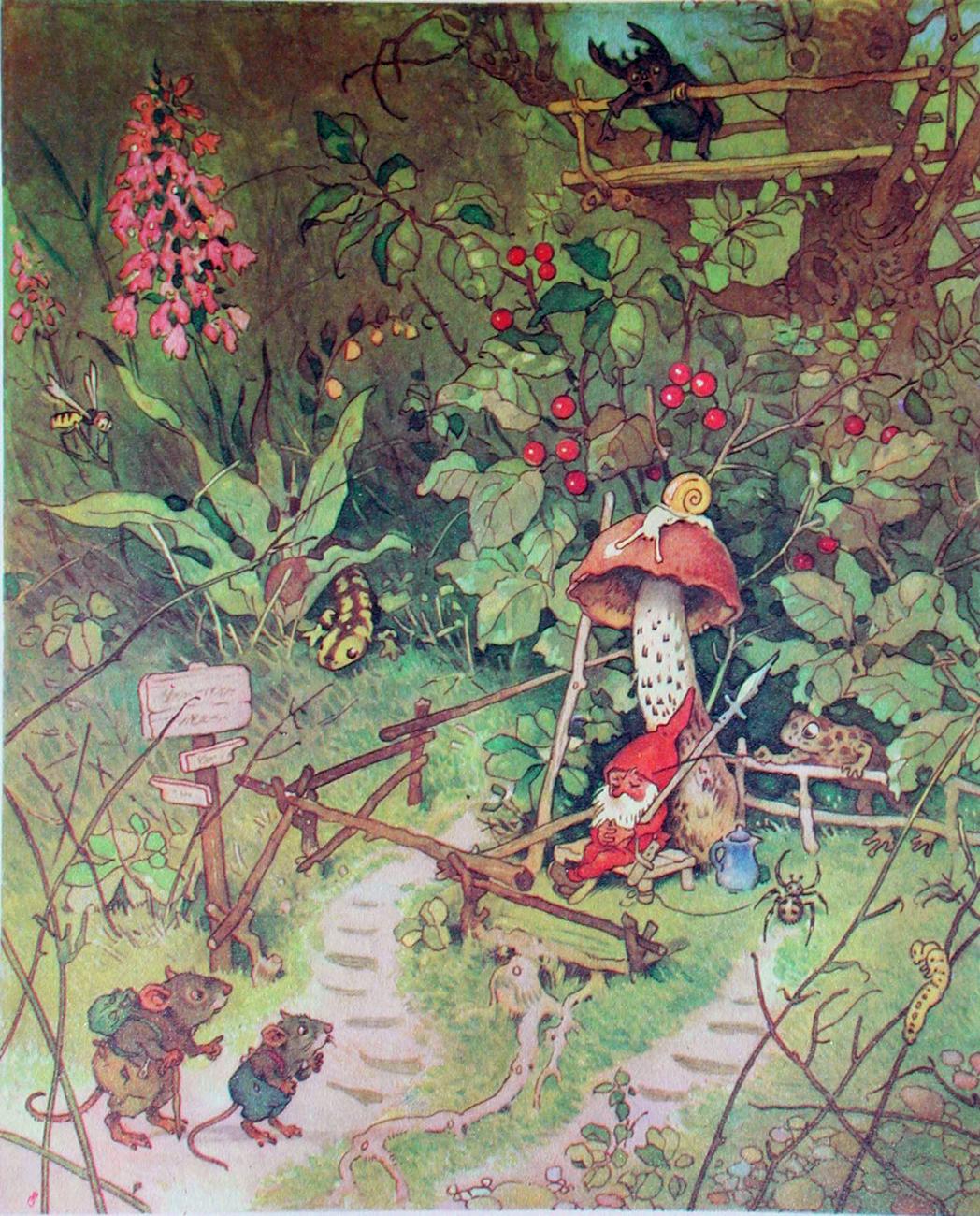 1000 images about illustraties fritz baumgarten on pinterest for Baum garten