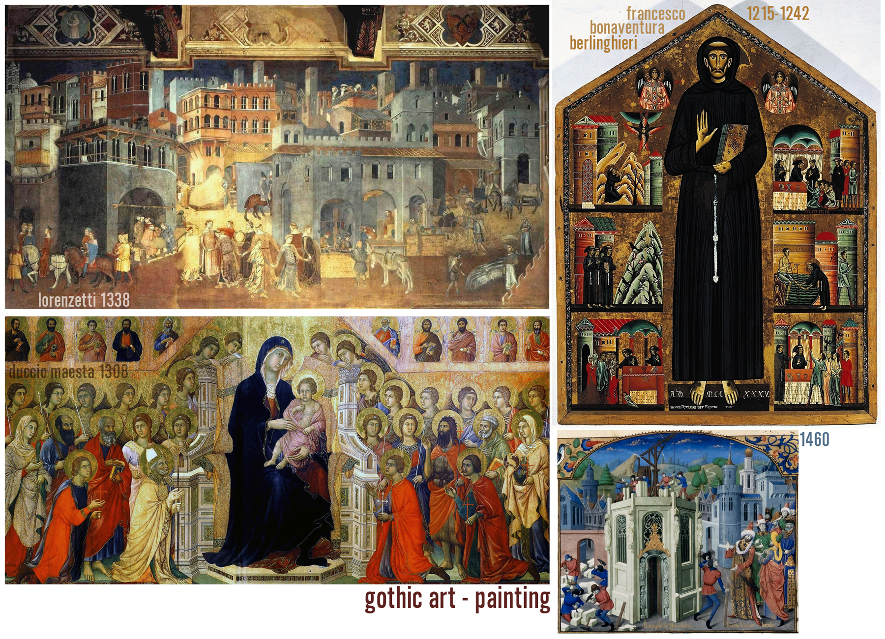 was the renaissance more medieval or The annunciation in medieval and renaissance christian art, is evident  (once  art became more available to the public outside of the church.