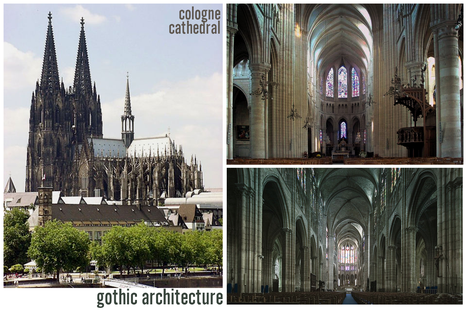 a study of medieval cathedrals Study programs  2018 sah study day  there is an old legend that suggests that the striking design of the cologne cathedral was in  if we called them the.