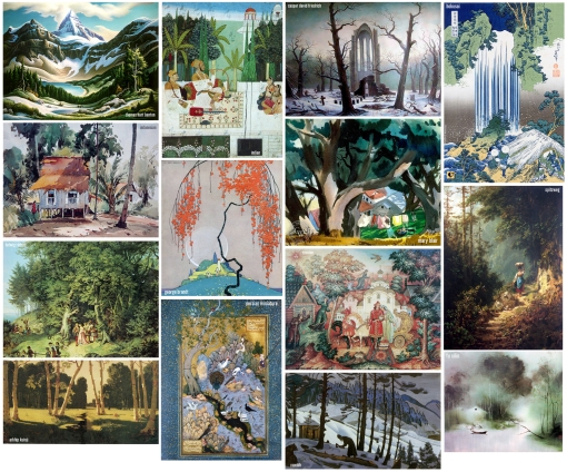 Carnet à inspirations *w* Trees-in-art-1