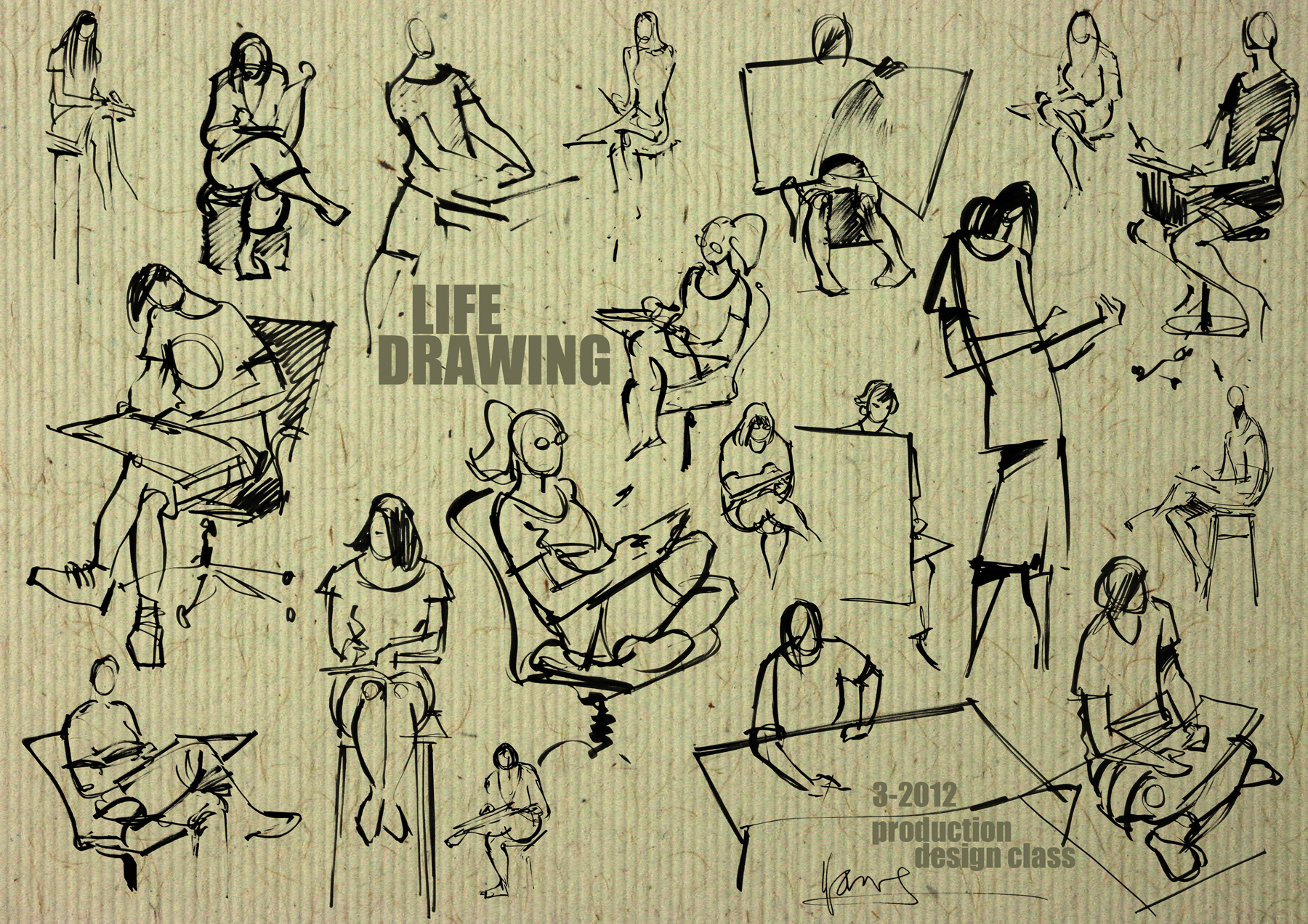 Henry Lee Lucas Drawing Life Drawing