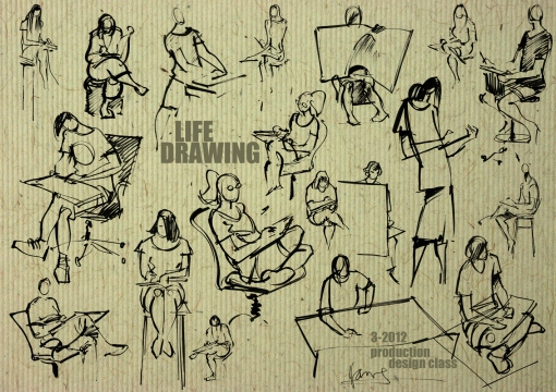 life drawing comp 2012