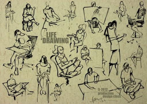 life drawing comp 2012
