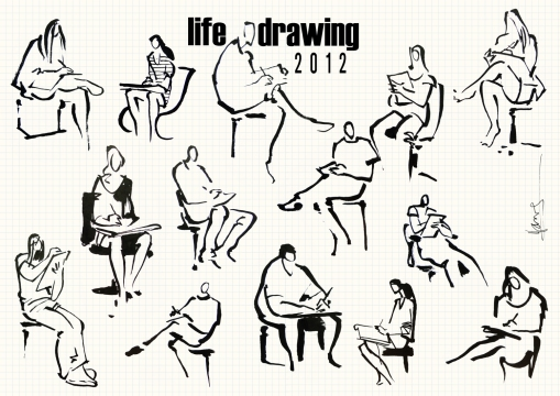 more life drawing 3-12