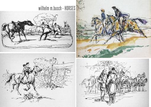 busch horses 1