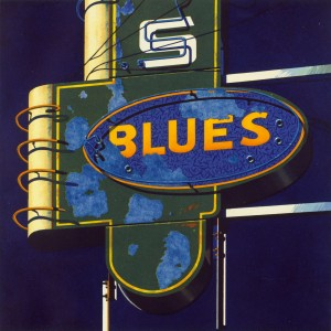 13.059 1989 Blues aquatint on paper 25.7 x 45.7 cm
