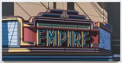 17.118 2012 Empire IV oil on canvas 122 x 244 cm