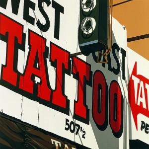 2.001 1975 Tattoo lithograph 86.4 x 86.4 cm