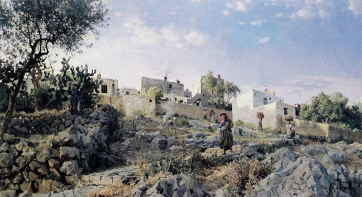 3monsted 1885-6734 a view of anacapri