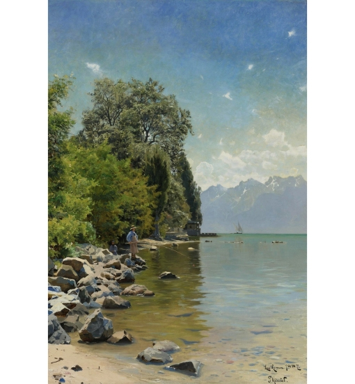 Peder_Mønsted_-_Lac_Léman