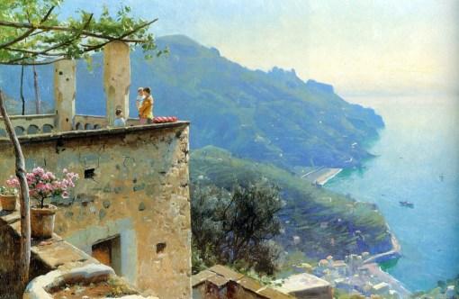 The Ravello Coastline 1926