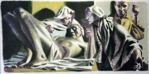 4Hans Feibusch washing Christ