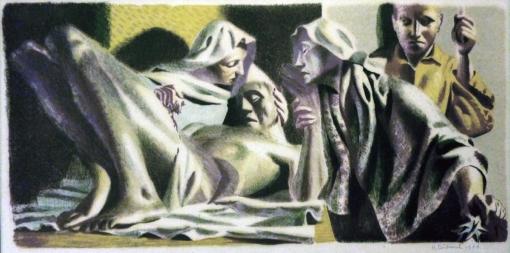 4Hans Feibusch washing Christ