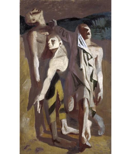 1939 1939 by Hans Feibusch 1898-1998