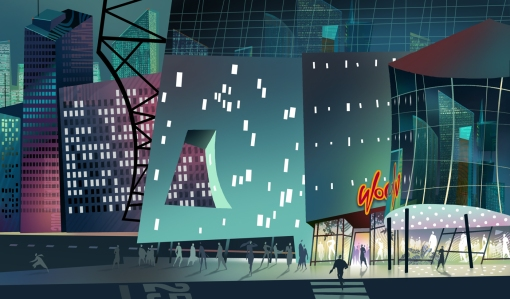 big 'wild' city