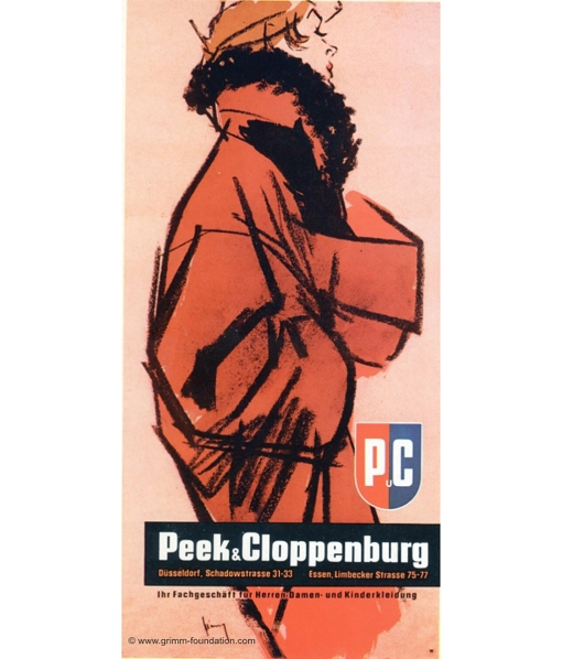 Gerd Grimm Peek Cloppenburg 1958