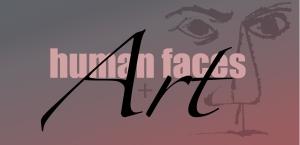 human faces+art